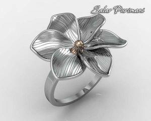 انگشتر گل