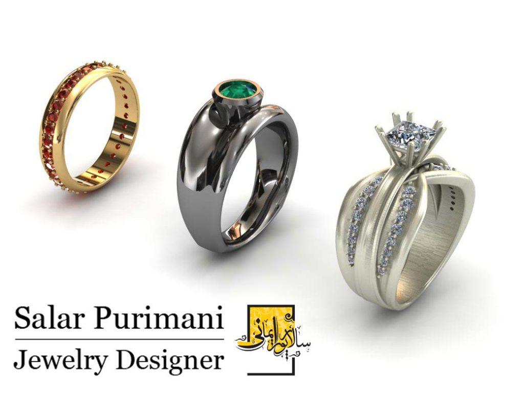 بازار کار طراحی طلا و جواهر