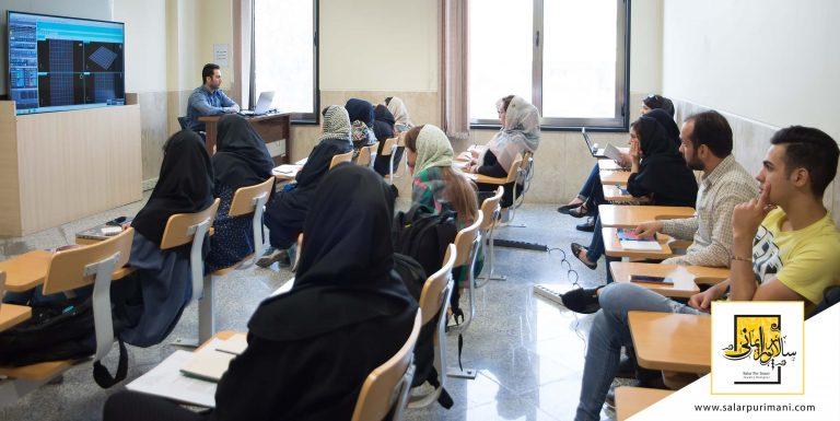 کلاس طراحی جواهرات دانشگاه تهران