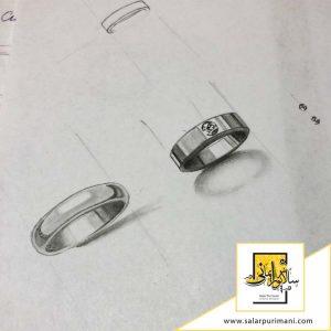 دوره طراحی دستی جواهرات