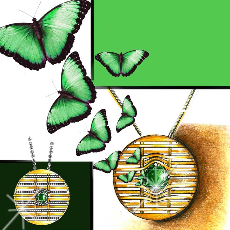 طراحی دستی جواهرات