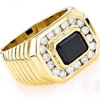 انگشتر طلا مردانه