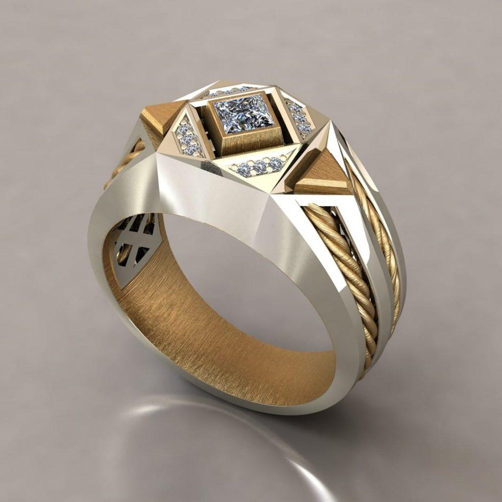 انگشر طلا