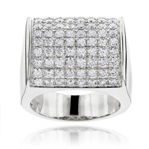 انگشتر جواهر مدل غریب با سنگ الماس