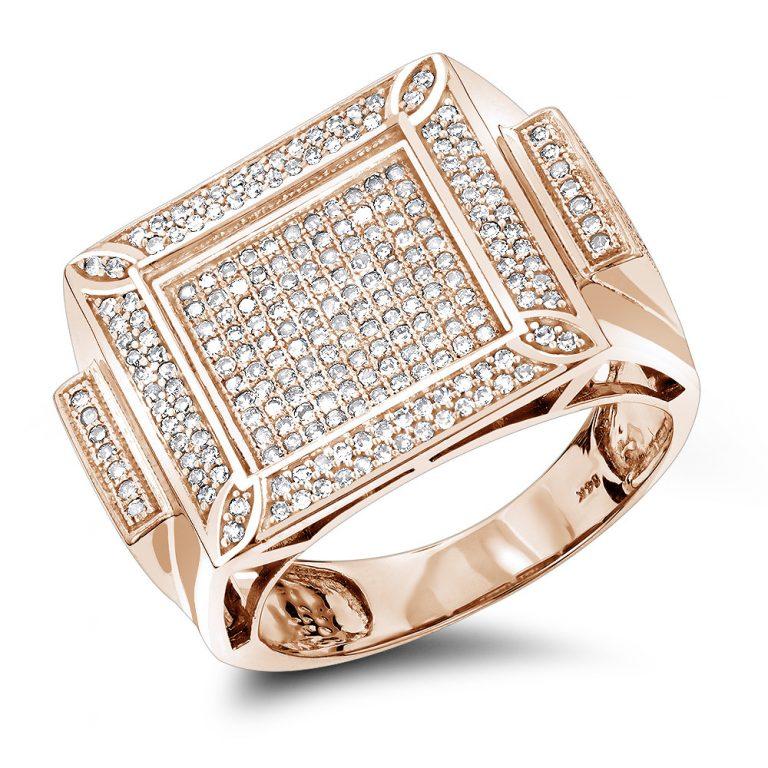 انگشتر جواهر مدل سپند با سنگ الماس