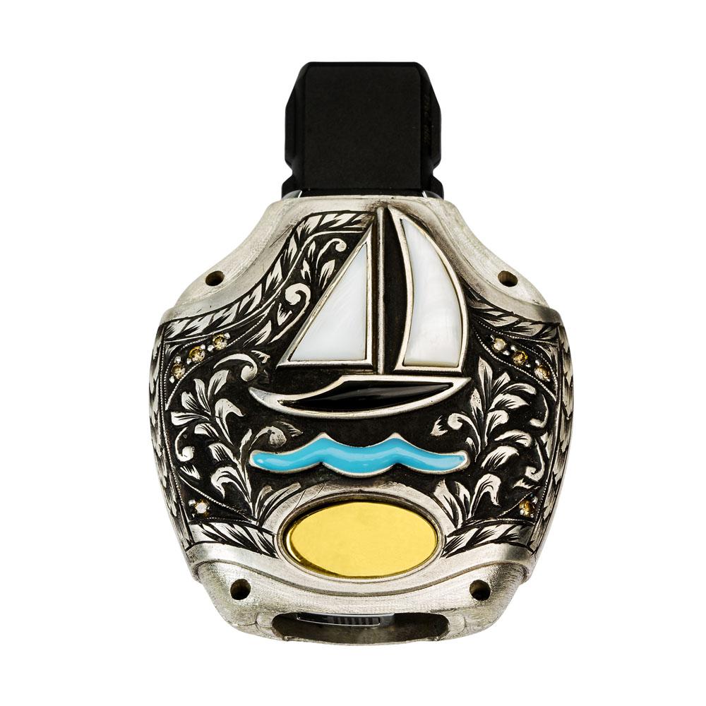 کاور ریموت بگینی مدل دوک قلمزنی با الماس
