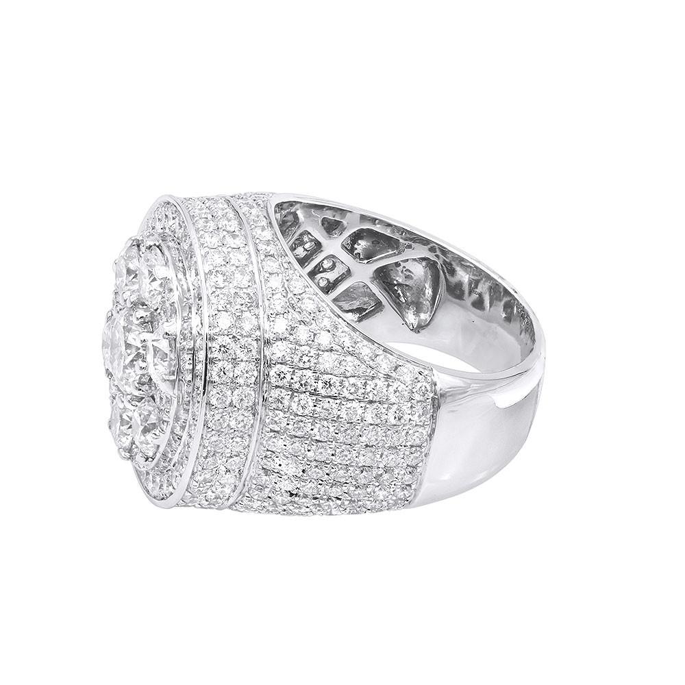 انگشتر جواهر مدل روما تمام الماس