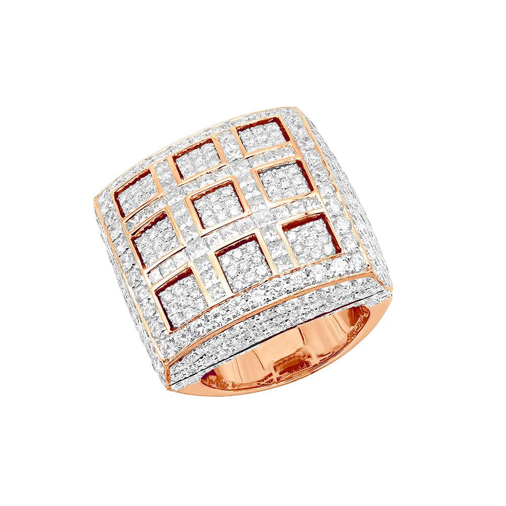 انگشتر طلا مردانه مدل نیکو با سنگ جواهر