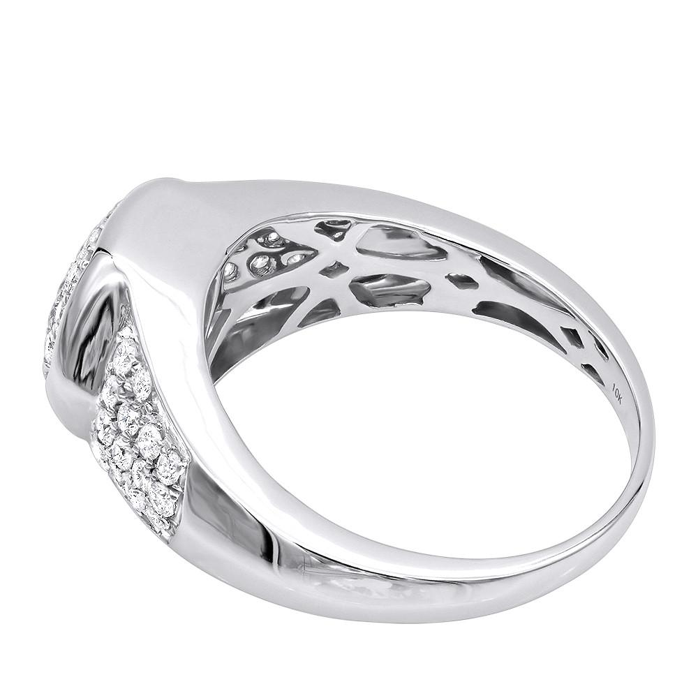 انگشتر جواهر مردانه مدل مانیا با الماس