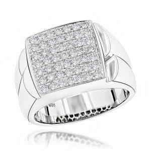 انگشتر جواهر مدل بَخشا با سنگ الماس