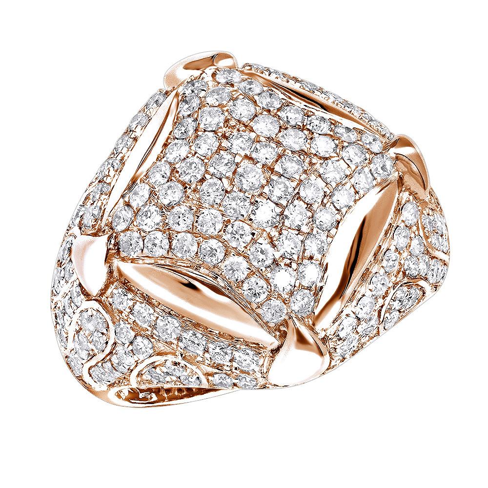 انگشتر طلای مردانه مدل وخش سنگ الماس