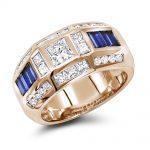 انگشتر جواهر مدل پارا با سنگ الماس