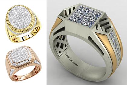 خرید انگشتر طلا مردانه