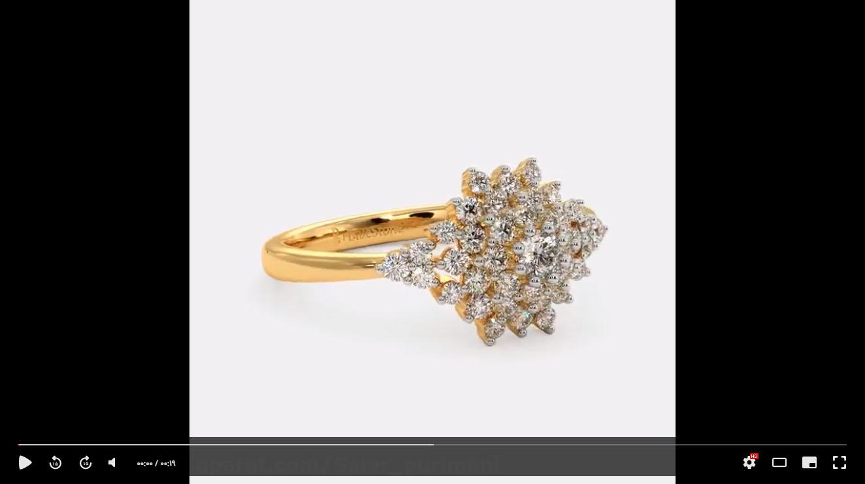 انگشتر طلا جواهر