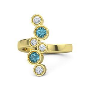 انگشتر جواهر زنانه مدل داروت