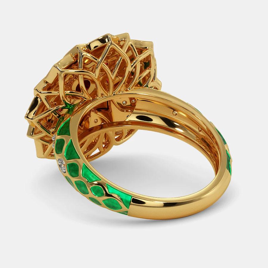 انگشتر طلا زنانه مدل شاروم