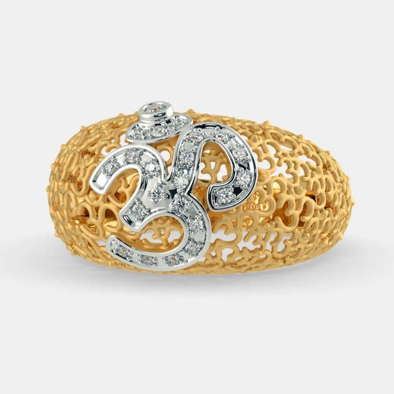 انگشتر طلا زنانه مدل منتورا