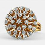 انگشتر طلا زنانه مدل گاشتا