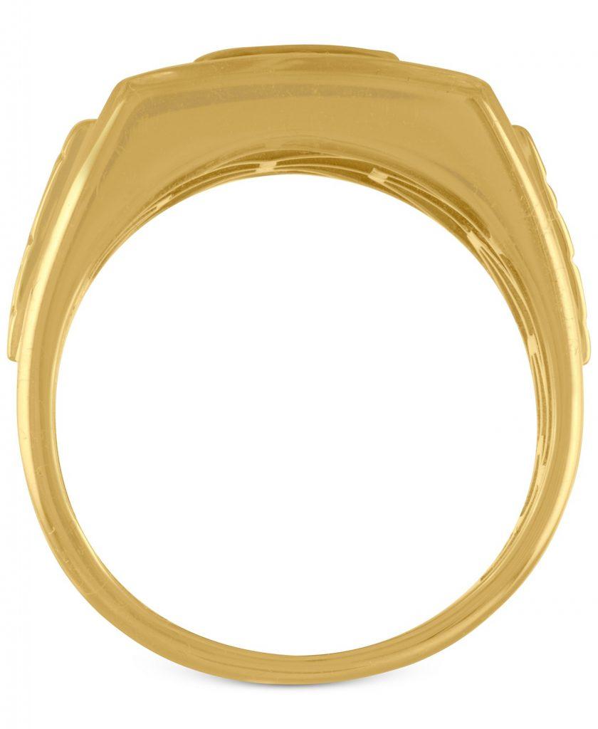 انگشتر طلا مردانه مدل کوروم