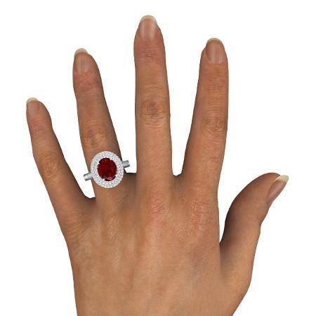 انگشتر طلا زنانه مدل فارونا