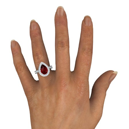 انگشتر طلا زنانه مدل یونارو