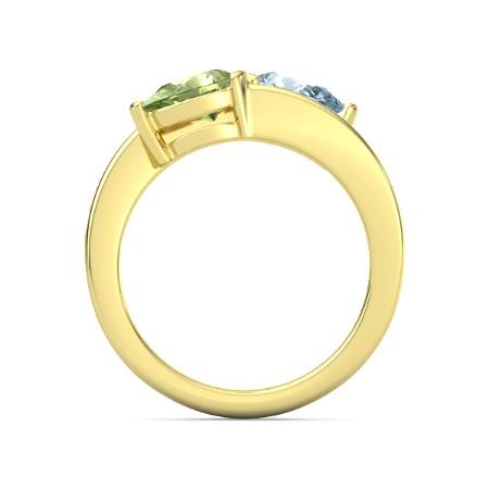 انگشتر طلا زنانه مدل آرمانا
