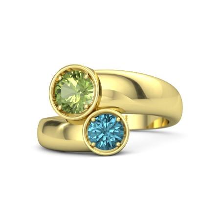 انگشتر طلا زنانه مدل ریکارا