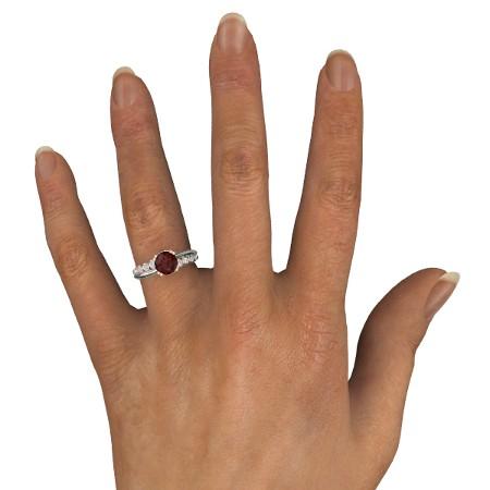انگشتر طلا زنانه مدل الما