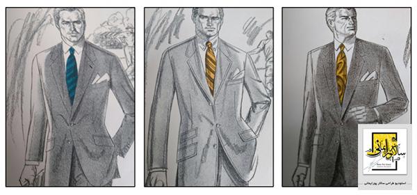 آموزش طراحی لباس مردانه