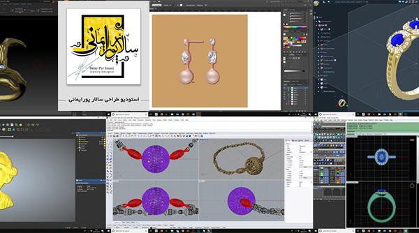 همه آن چیزی که باید در مورد آموزش طراحی طلا و جواهر با نرم افزار ماتریکس گلد بدانید