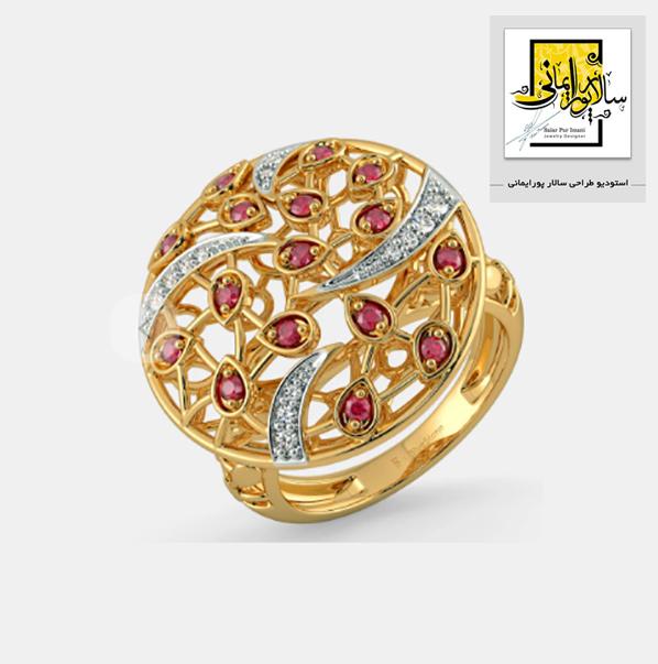 طراحی جواهرات با سالار پورایمانی ، یک استودیو حرفه ای برای هنرجویان