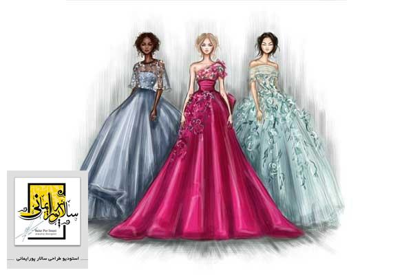 آموزش طراحی لباس با مدرک بین المللی
