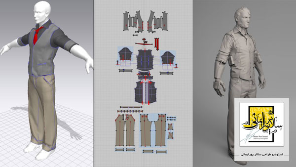 آموزش طراحی لباس با نرم افزار