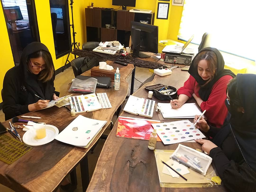 کلاس طراحی دستی