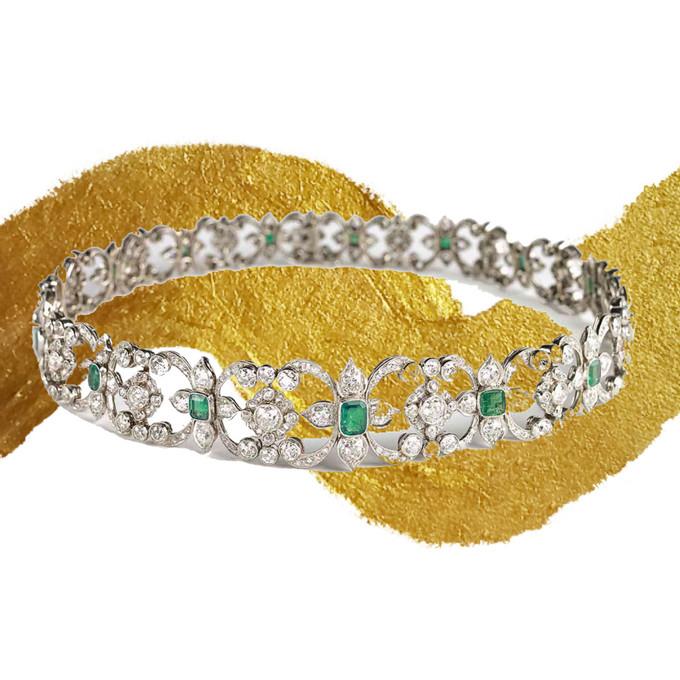 سبک جواهرات Edwardian Jewelry