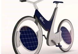 دوچرخه خورشیدی متفاوت یا ele